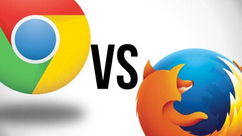 Google Chrome vs Firefox Quantum