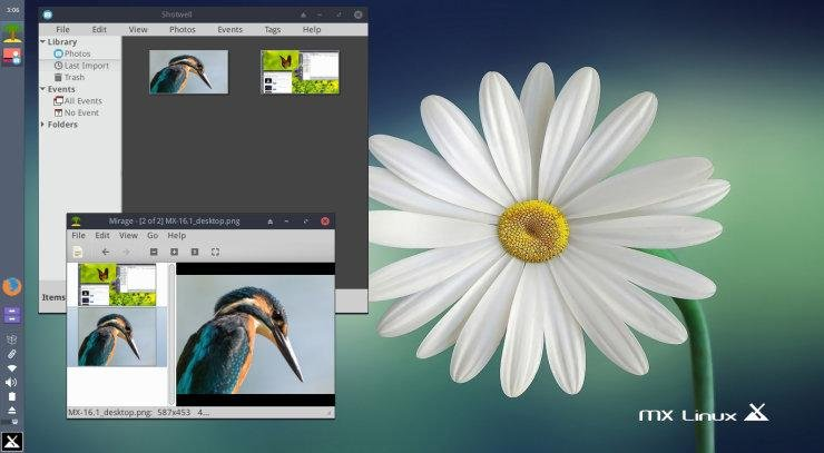 MX Linux is a desktop-based Linux distribution based on the Debian stable branch