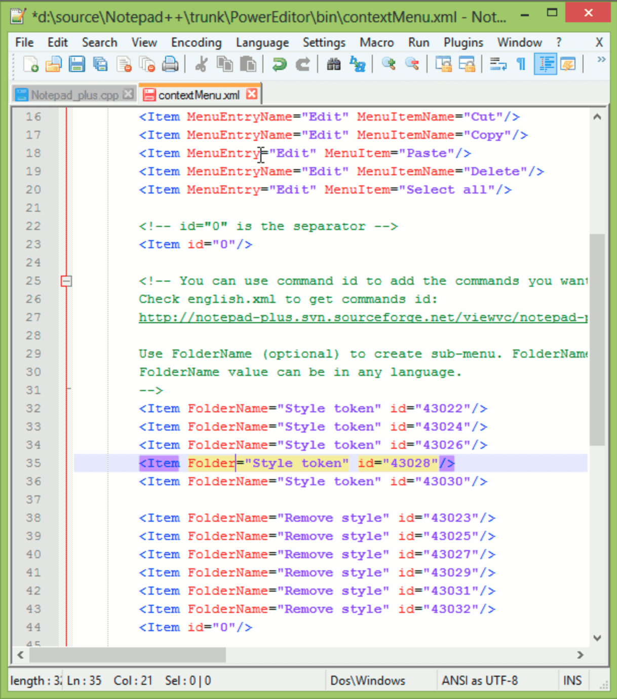 Notepad++ 7 7 1 releases, free source code editor • InfoTech