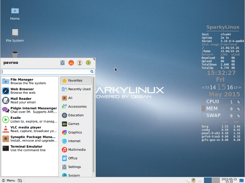 SparkyLinux Rolling