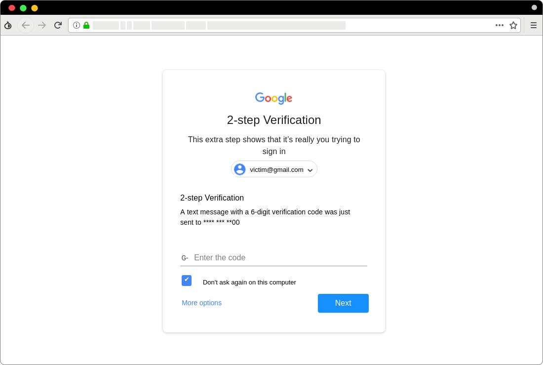 bypass two-step verification