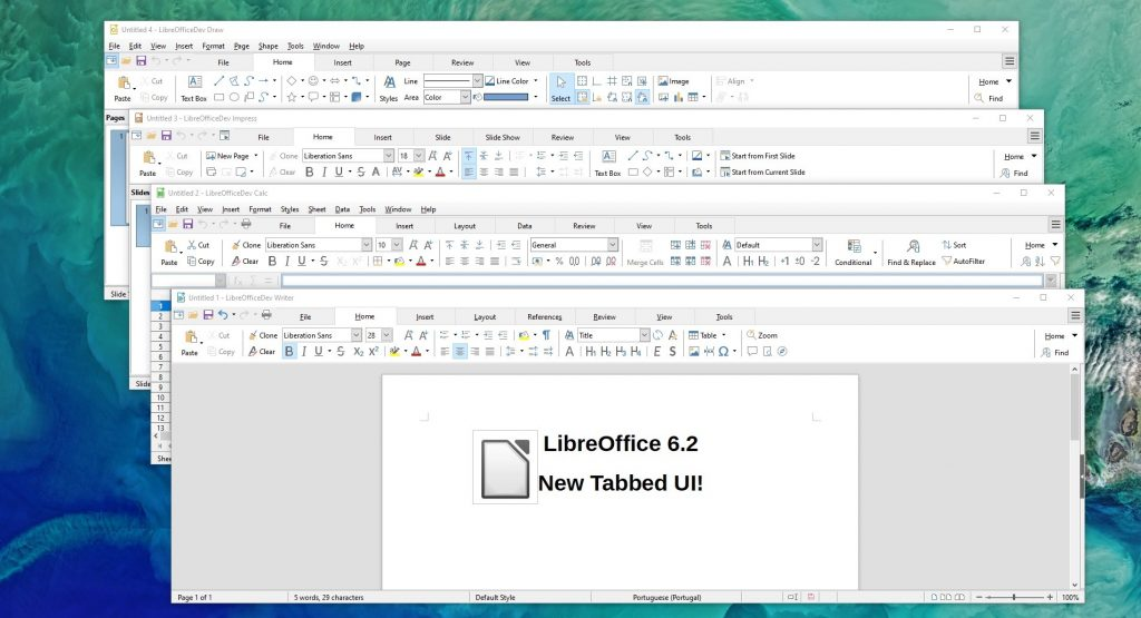 LibreOffice 6.2.3 download
