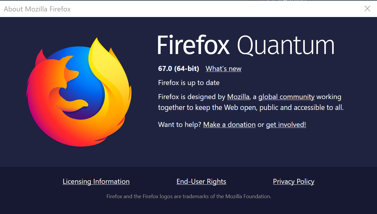 Mozilla Firefox 67 is available for downloading • InfoTech News