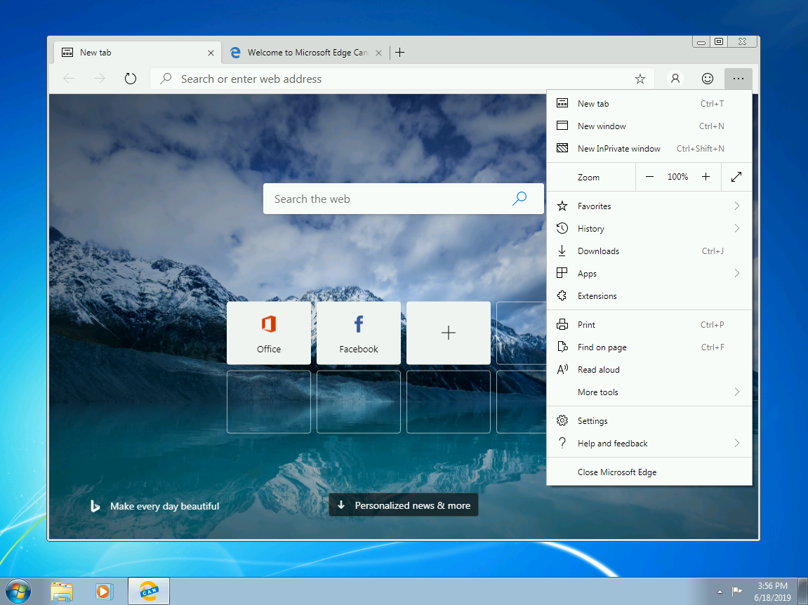 Microsoft may make Chromium Microsoft Edge as default browser in Windows 20H1