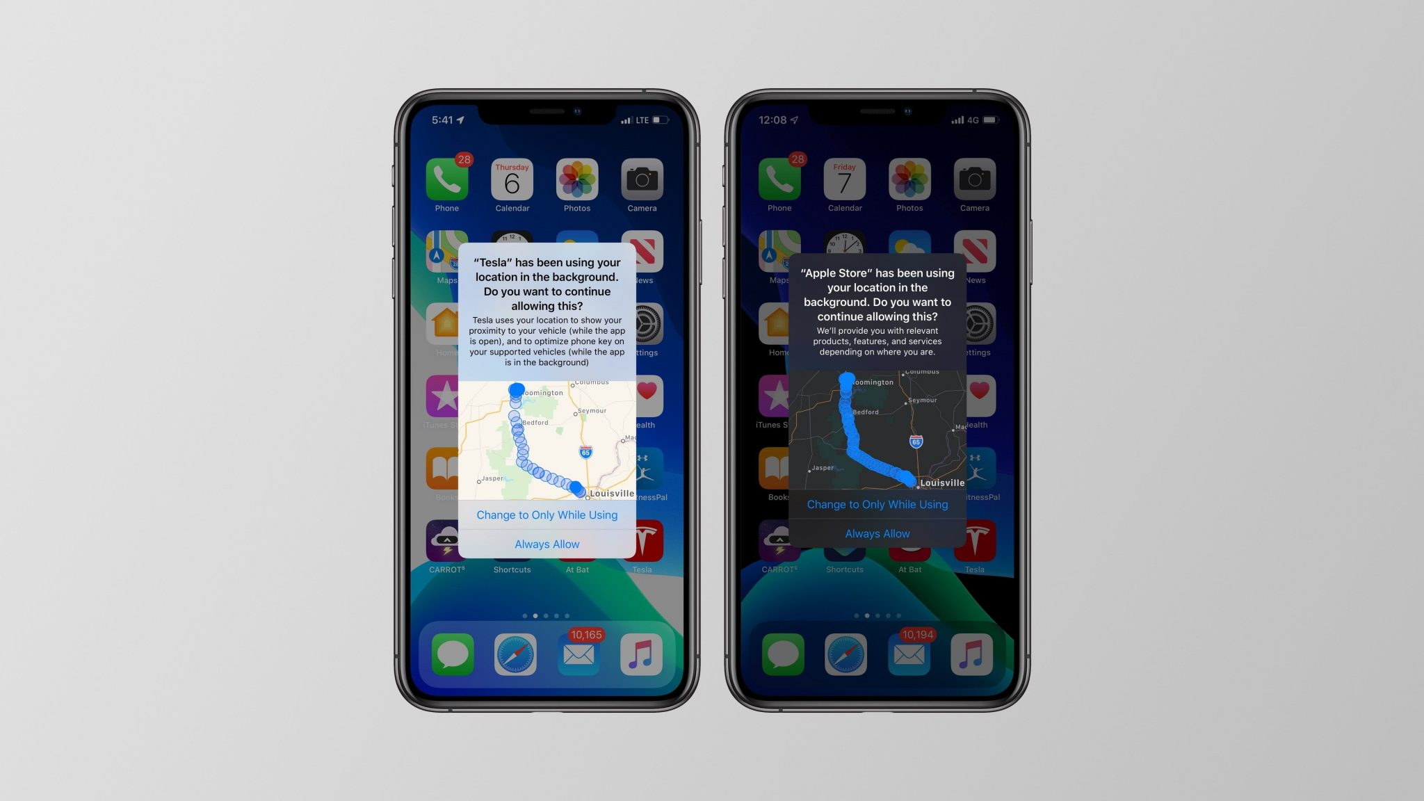 iOS 13 privacy protection