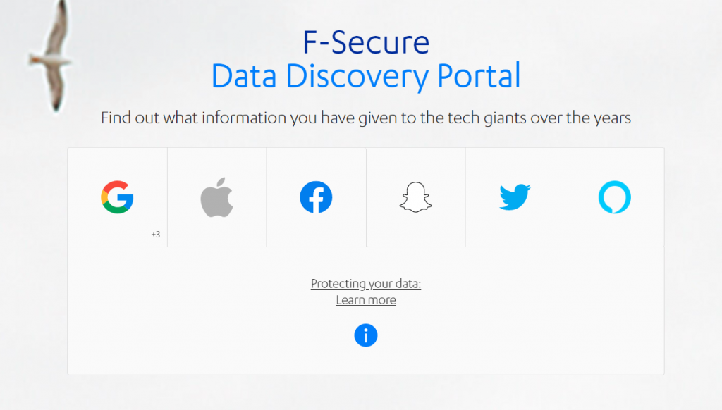 F-Secure Data Discovery Portal