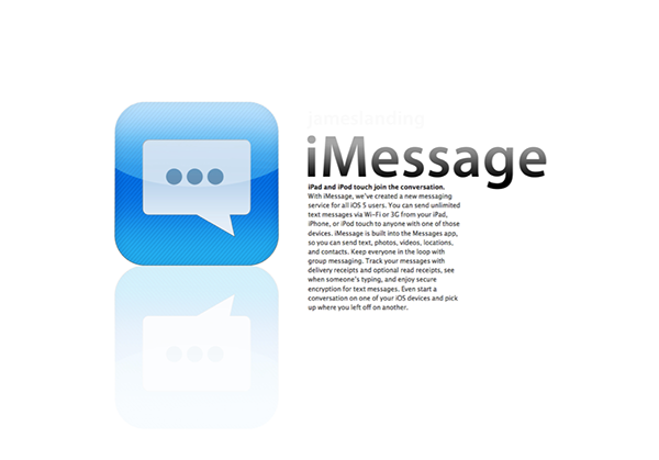 malformed message iMessage