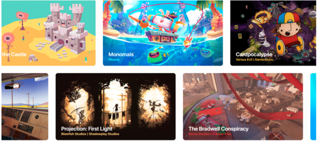 Apple game subscription service