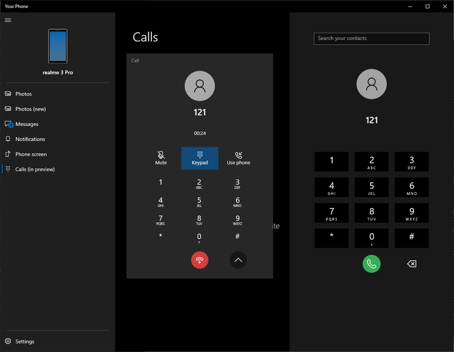 "Windows 10 ""Your Phone"" app will soon support making or receiving calls"