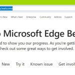Chromium Edge browser will automatically import all saved bookmarks from the classic version