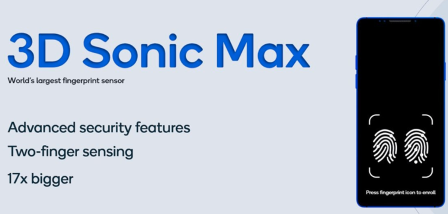 Qualcomm launches 3D Sonic Max solution with ultrasonic fingerprint recognition