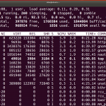 Linux system information and running status monitoring
