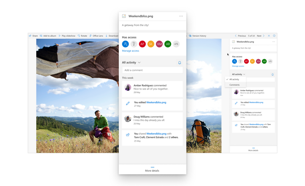 Microsoft announces new features for OneDrive to improve sharing and office collaboration experience