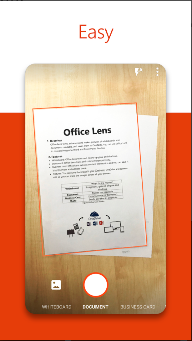 Microsoft announced to terminate the Microsoft Office Lens for Windows