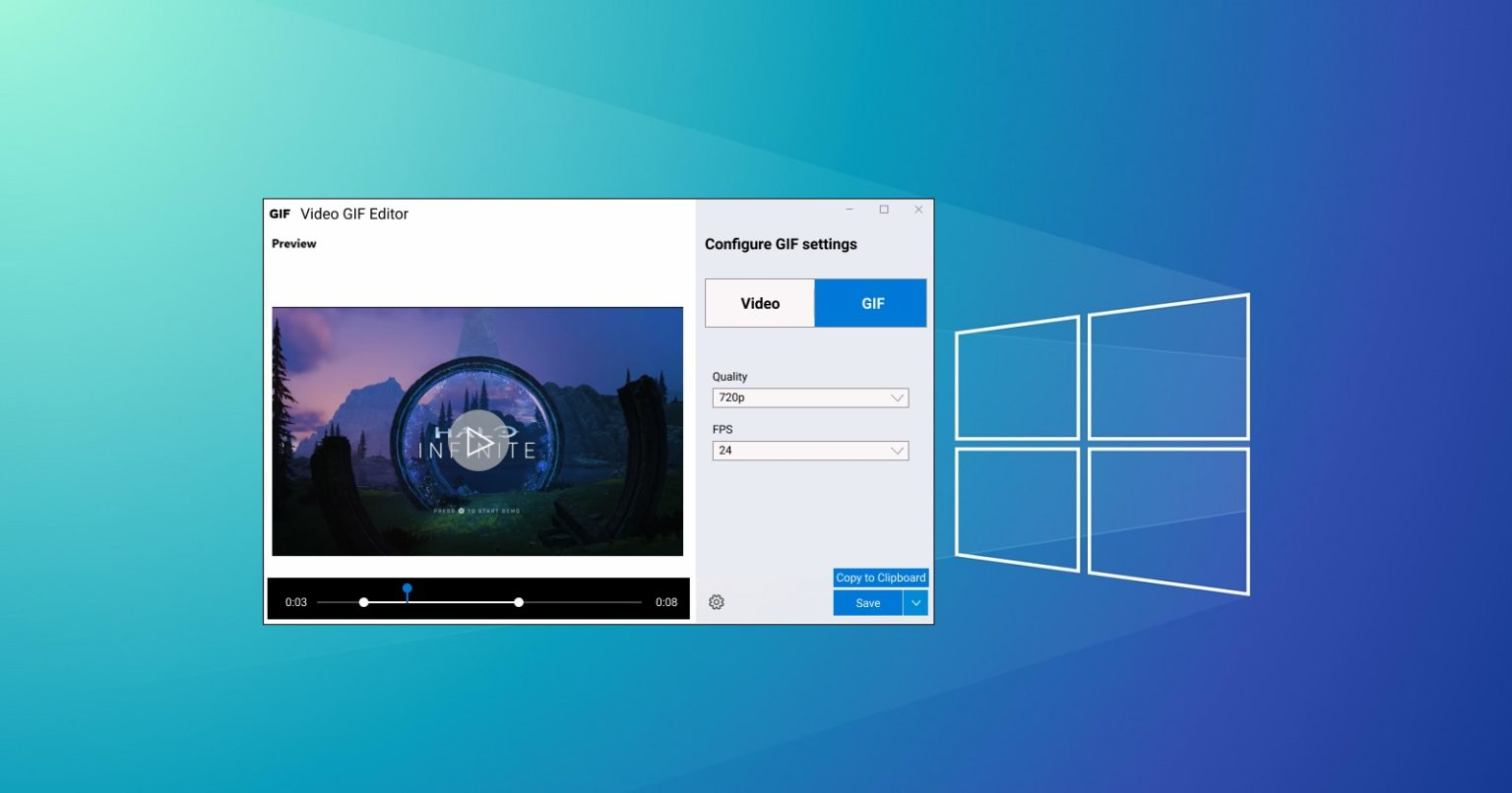 Windows 10 Tool Can Be Recorded As A Video And Dumped As A Gif Animation Infotech News