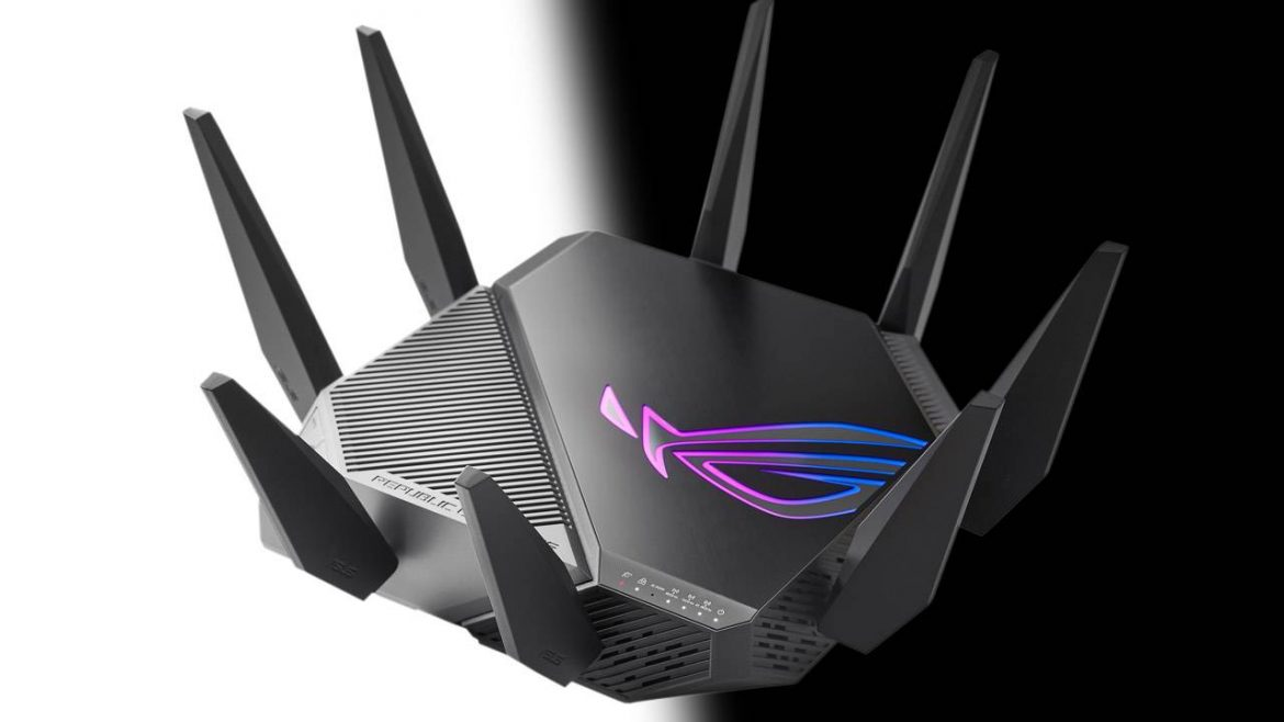 Asus launches the world's first WiFi 6E router GT-AXE11000