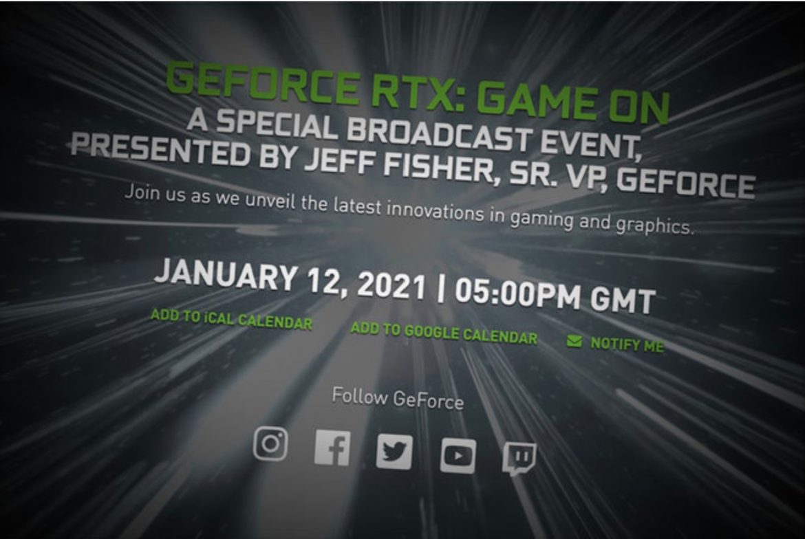 Nvidia will hold a press conference at 9 am PST on January 12