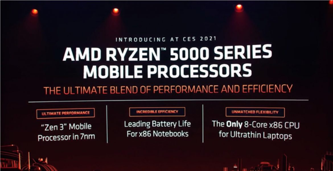 AMD launches RYZEN 5000 series processors