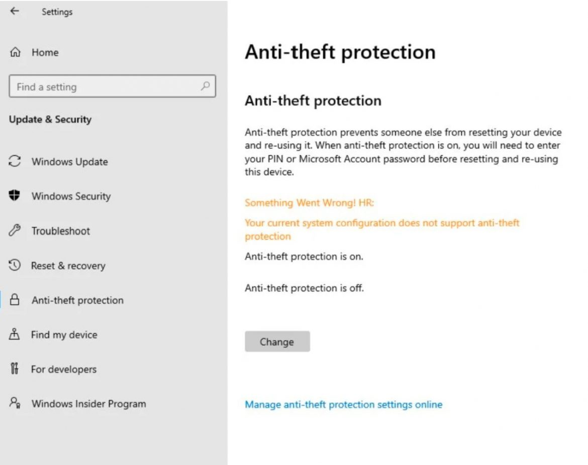 Microsoft brings anti-theft measures to Windows 10X