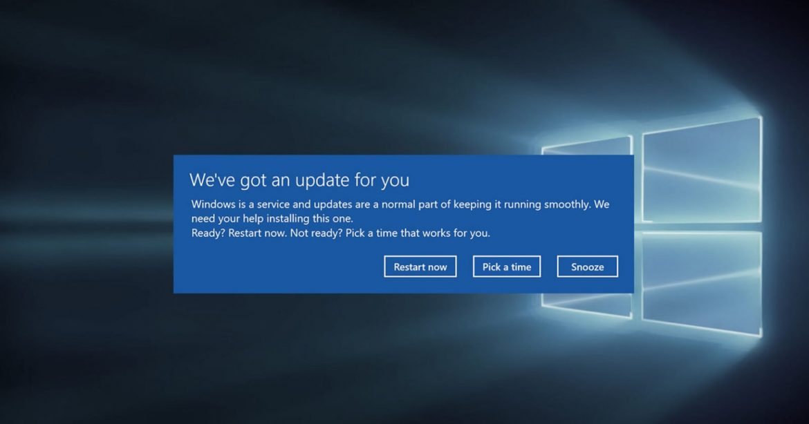 Microsoft solves the forced reboots problem in Windows 10